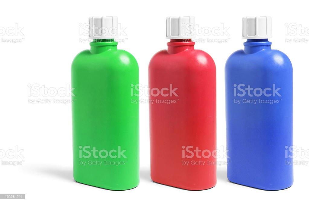 Plastic Drink Bottles royalty-free stock photo