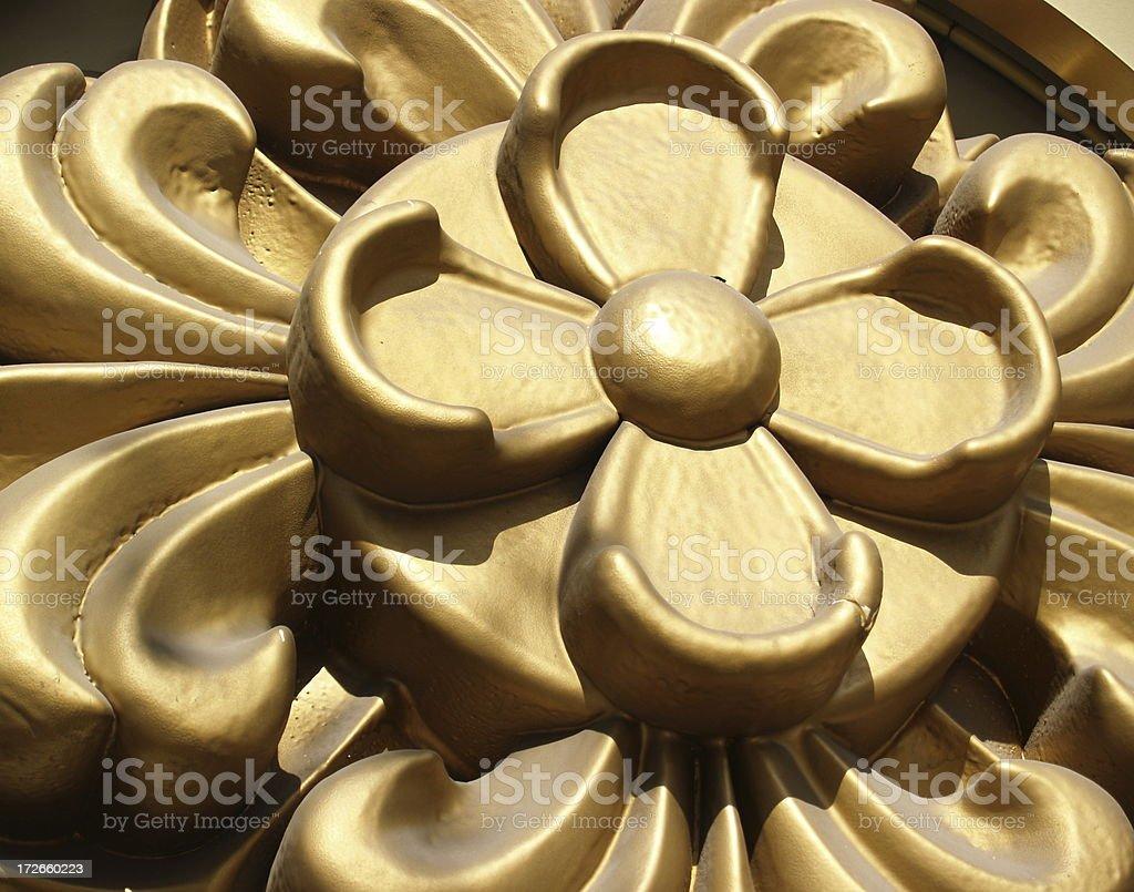 Plastic Floral Design stock photo