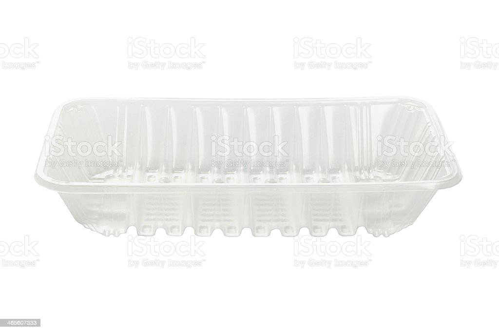 Plastic Food Tray royalty-free stock photo