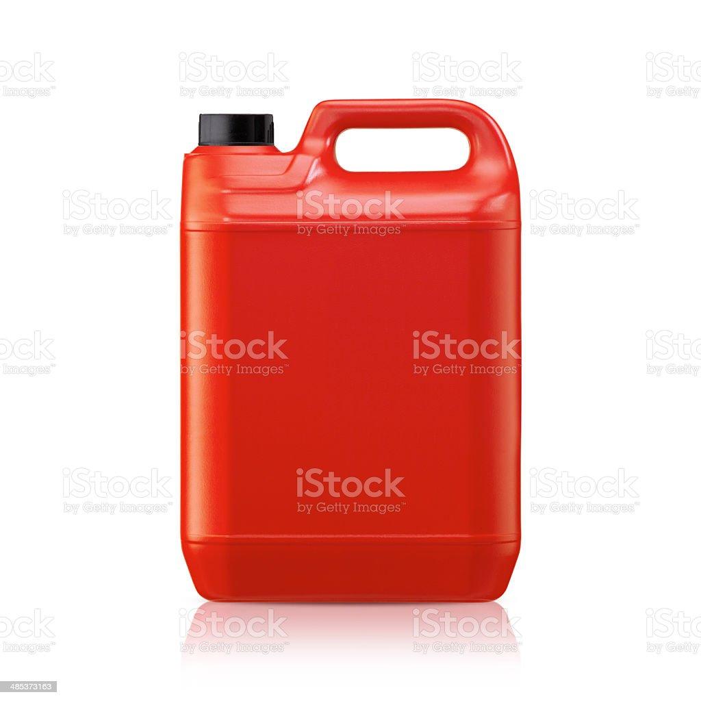 Plastic gallon stock photo