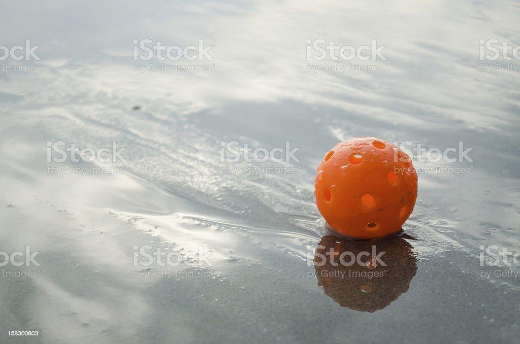 plastic golf ball royalty-free stock photo