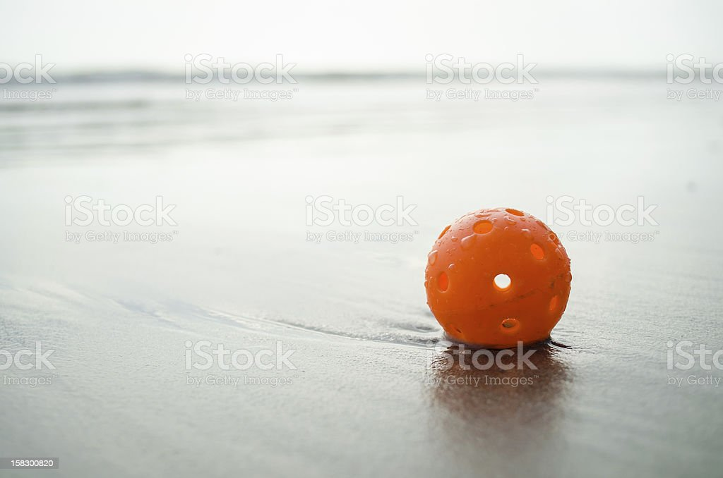 plastic golf ball royalty-free stock photo