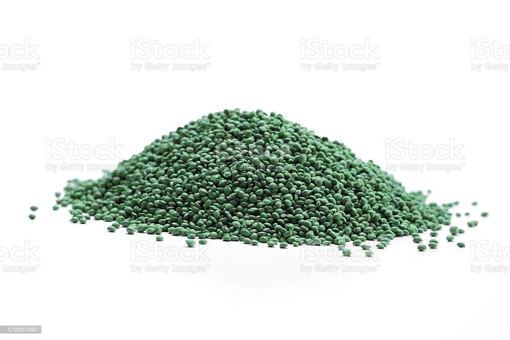 Plastic Grains - industry stock photo