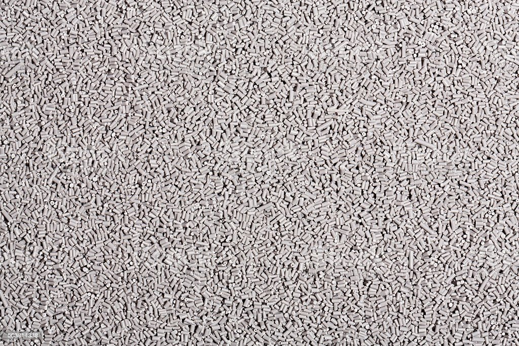 plastic granulate texture stock photo