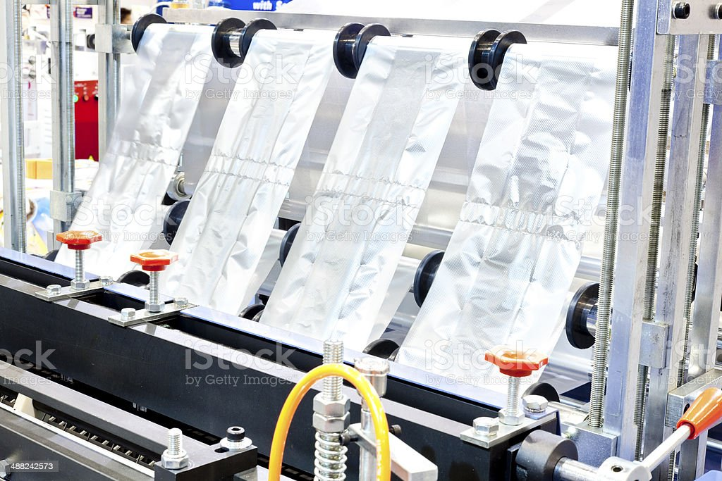 Plastic Industrial stock photo