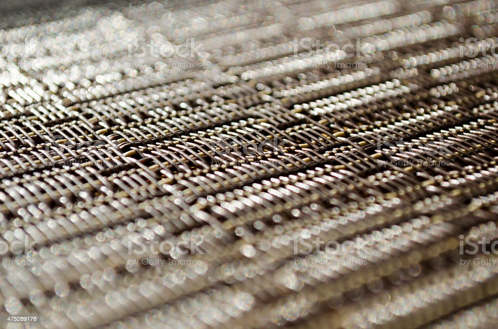 Plastic mat background stock photo