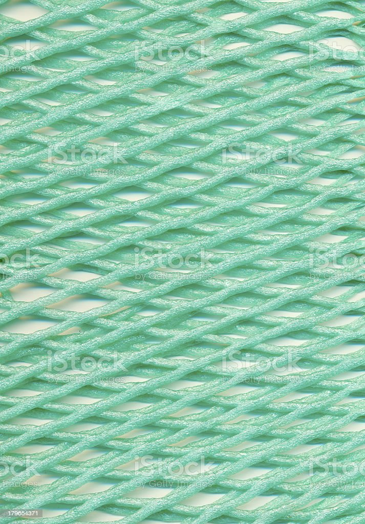 Plastic mesh royalty-free stock photo