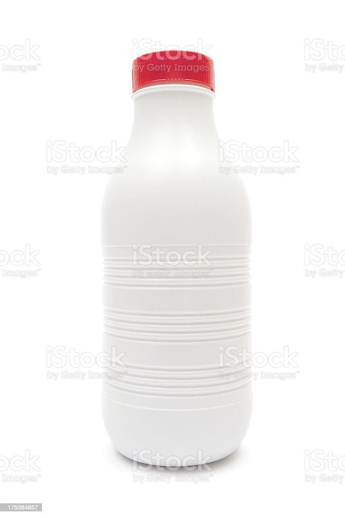 Plastic Milk Bottle royalty-free stock photo