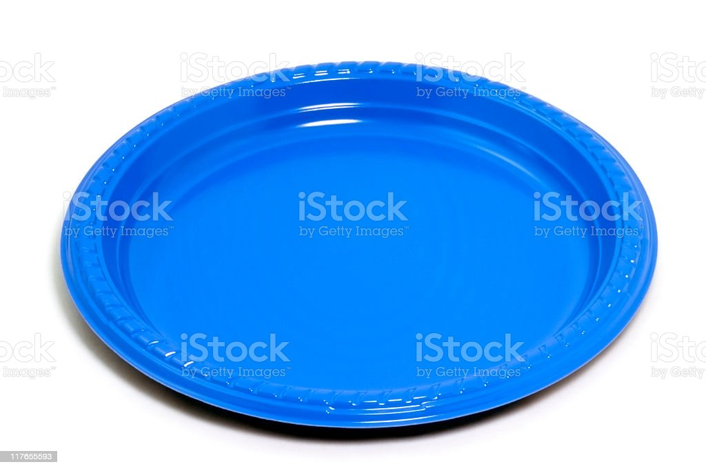 Plastic Plate royalty-free stock photo