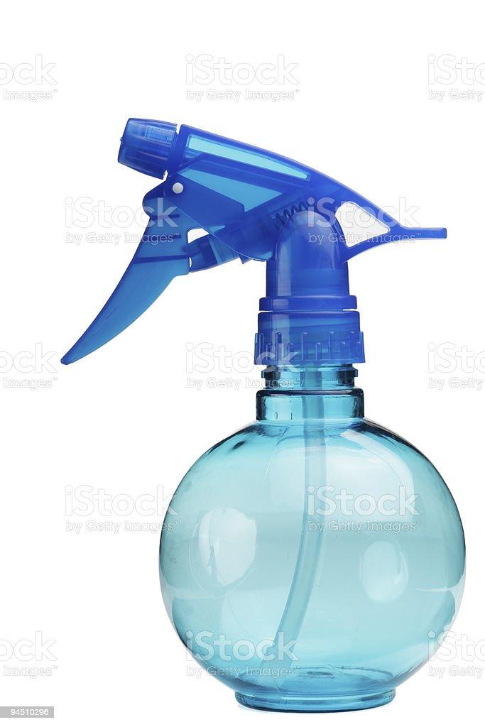 plastic spray bottle royalty-free stock photo