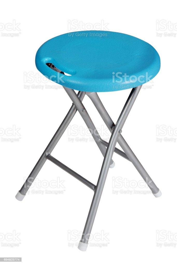 plastic stool stock photo