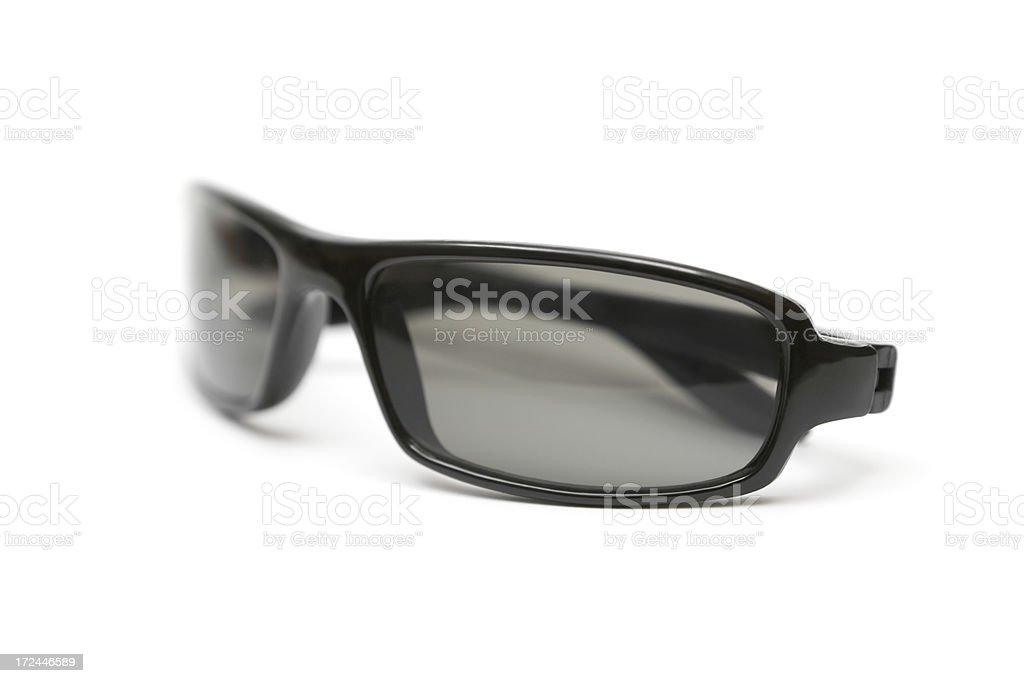 Plastic Sunglasses royalty-free stock photo
