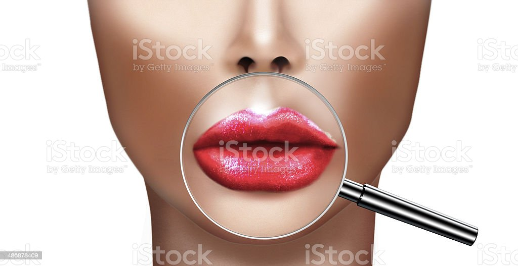 Plastic surgery,cosmetic improvement medical health and beauty stock photo