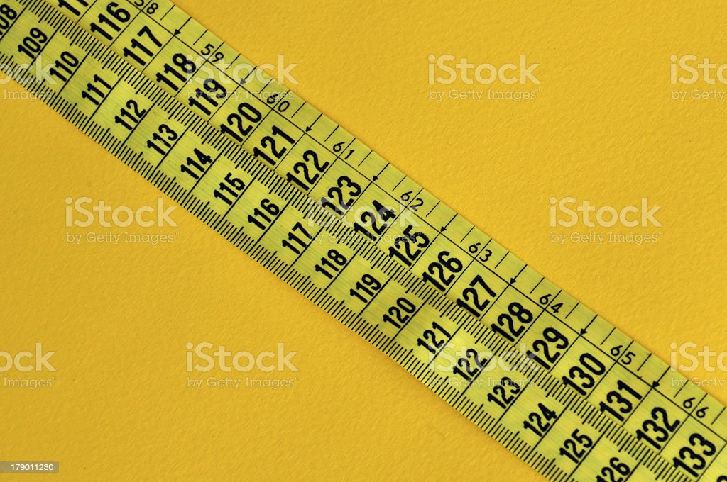 plastic tape measure royalty-free stock photo