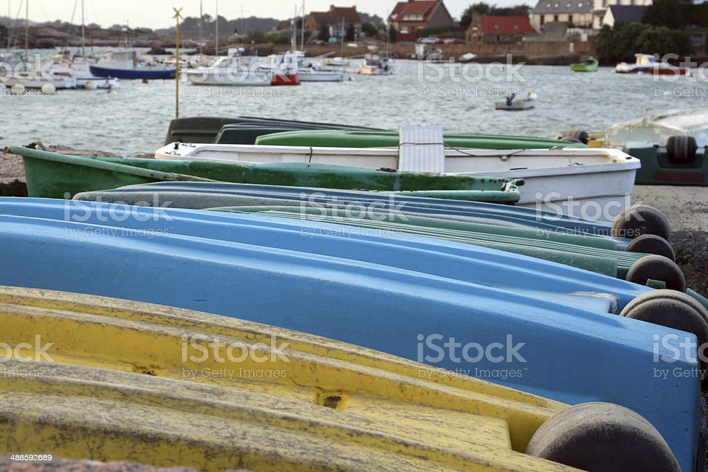 plastic tenders stock photo