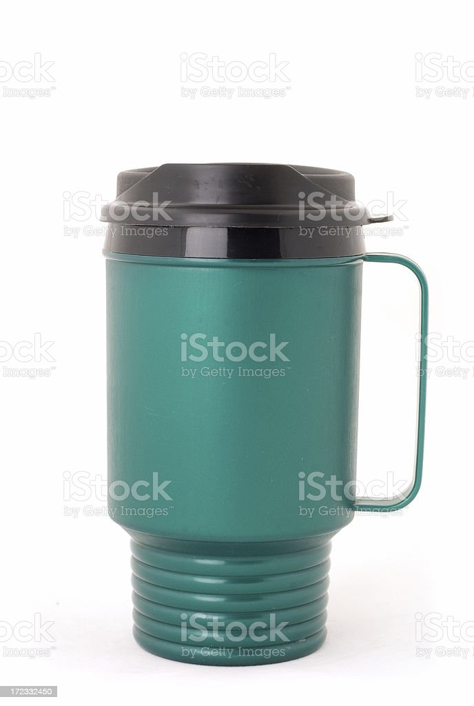 Plastic Travel Mug stock photo