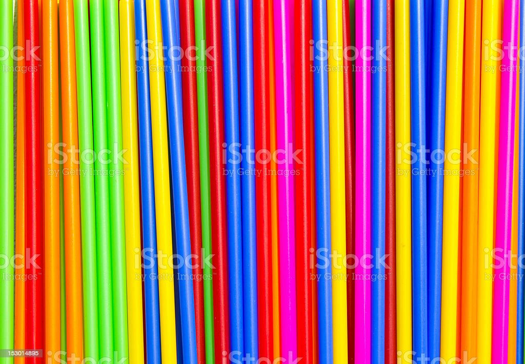 Plastic tube, bar colors. royalty-free stock photo