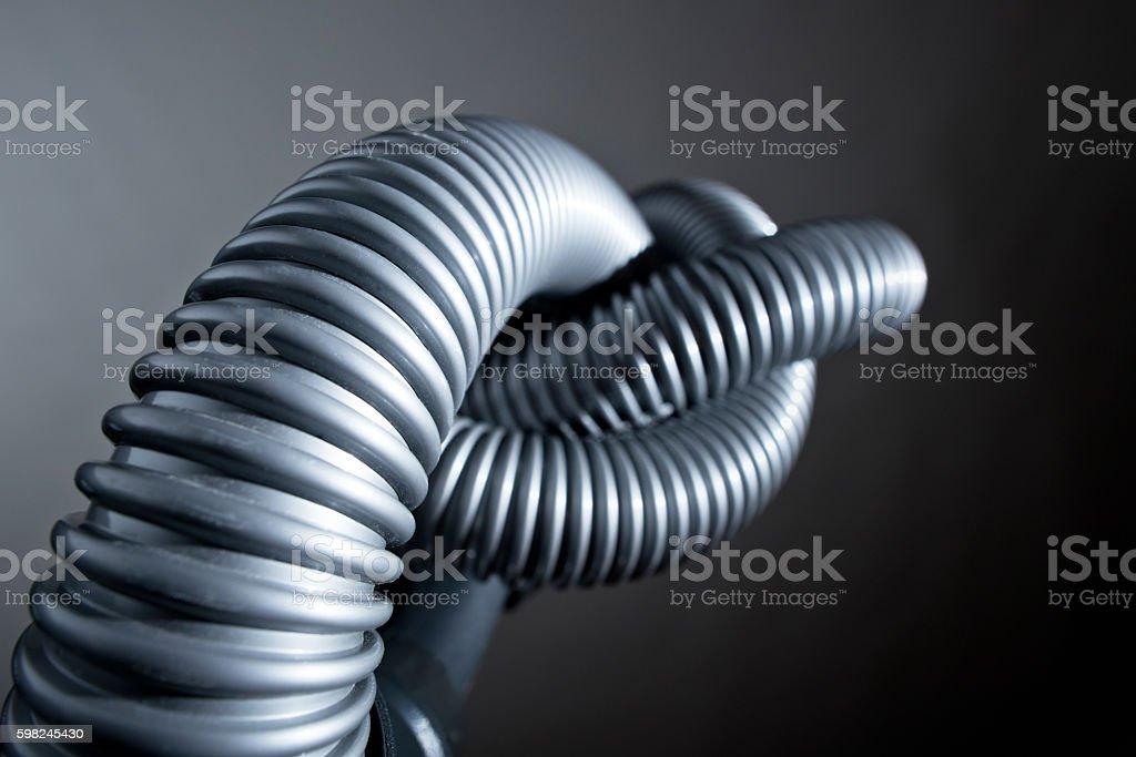 plastic tube stock photo