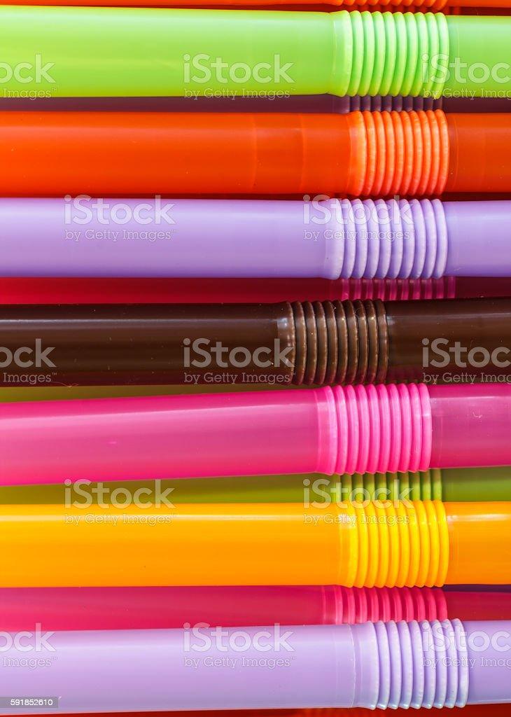 Plastic Tubes stock photo