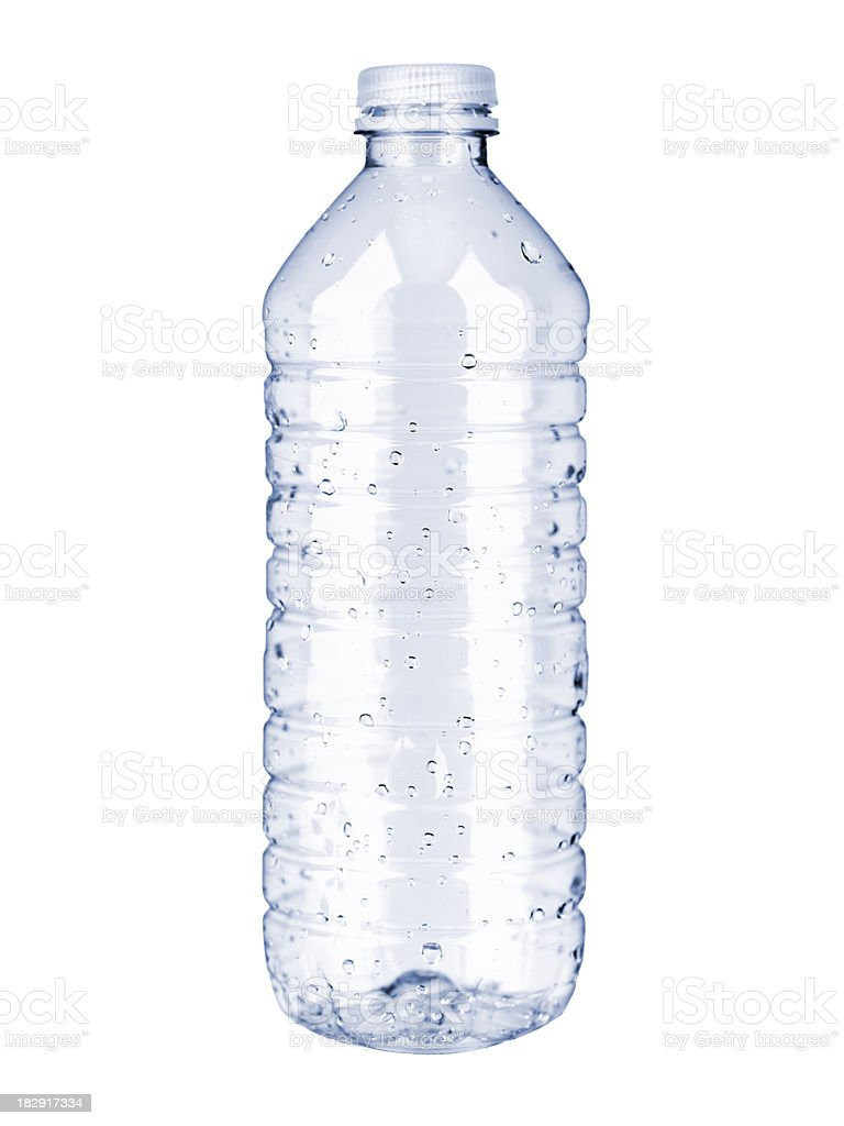 Plastic water bottle stock photo 182917334 istock for What to do with empty plastic bottles