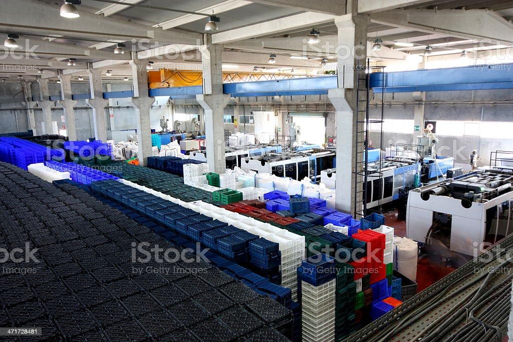 Plastics Factory royalty-free stock photo