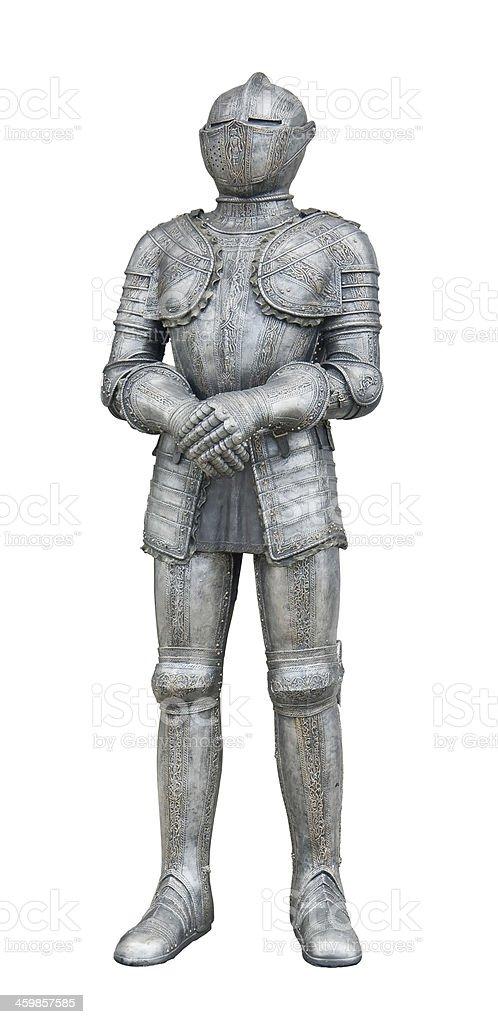 plate armour stock photo