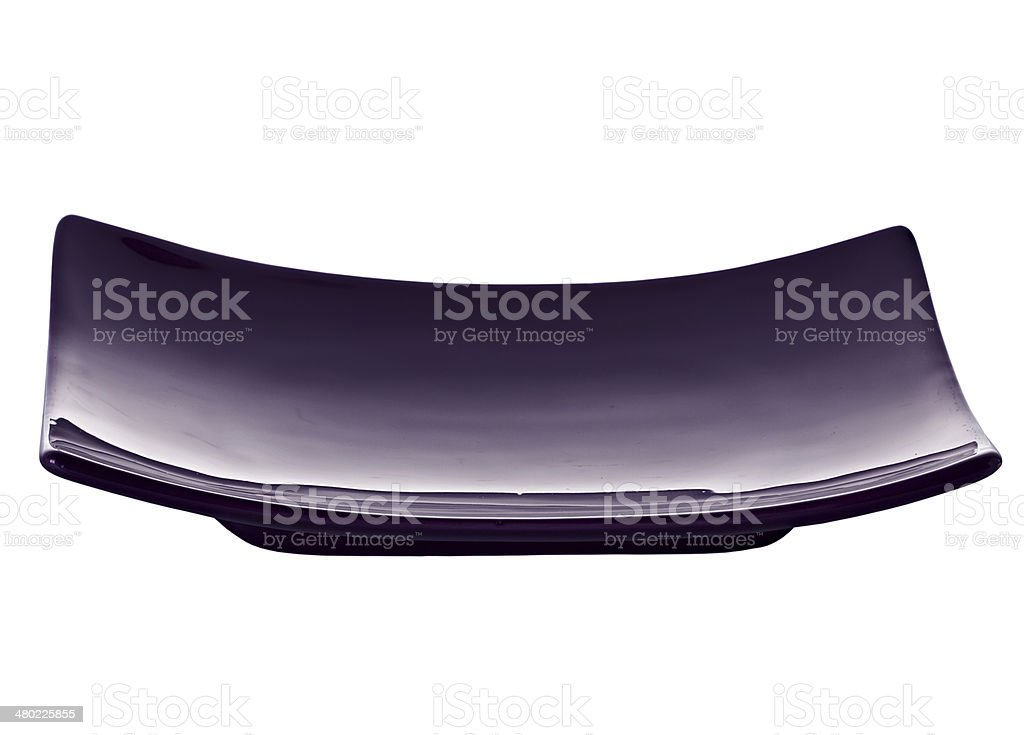Plate, dish for sushi isolated royalty-free stock photo