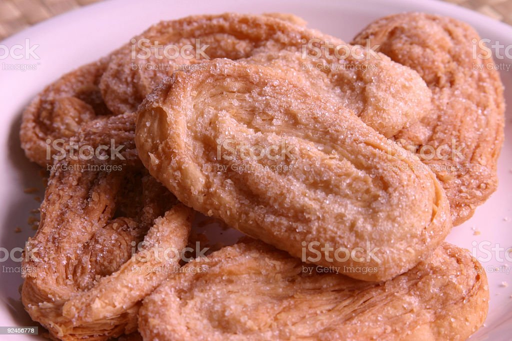 Plate of Otap royalty-free stock photo