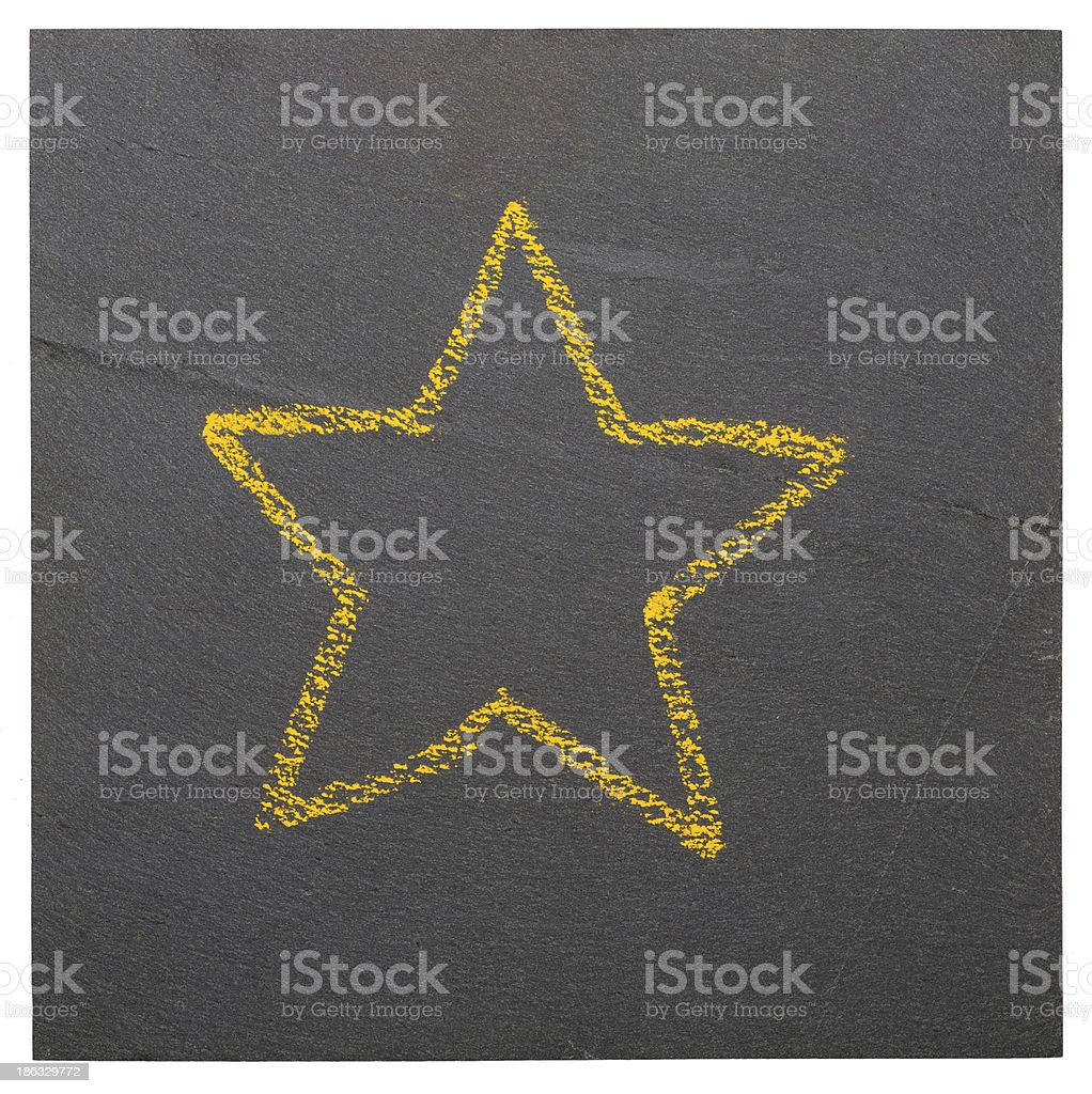Plate of slate. royalty-free stock photo