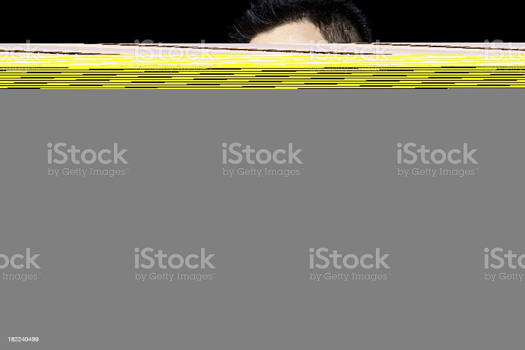 L Plate royalty-free stock photo