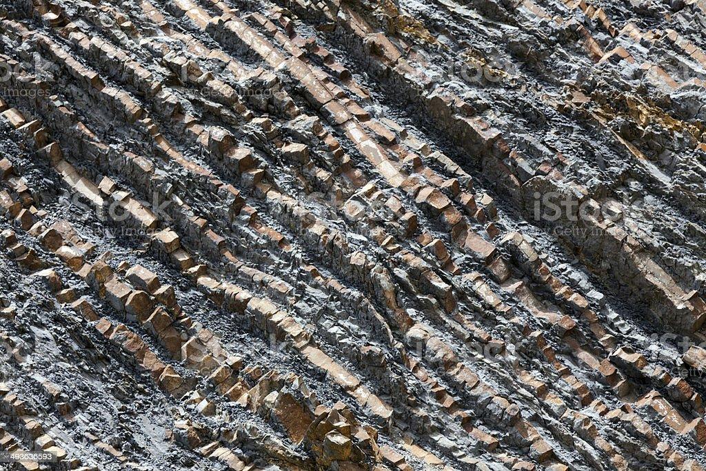 Plate Tectonics royalty-free stock photo