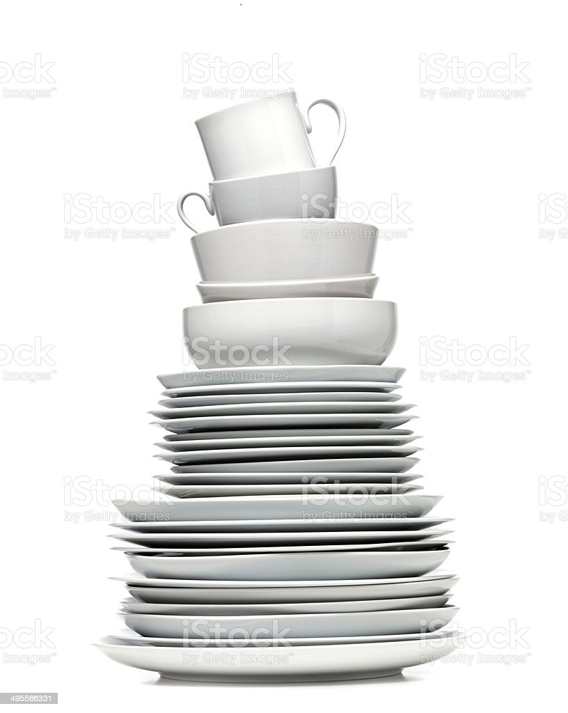 Plate Tower stock photo