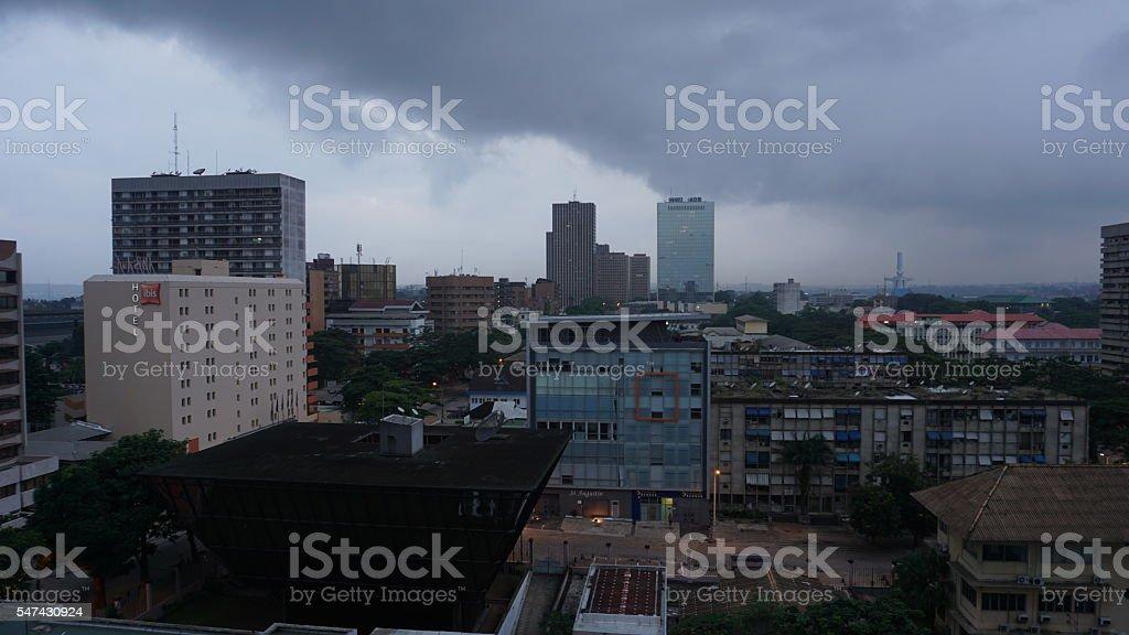 Plateau, Abidjan, Ivory Coast stock photo