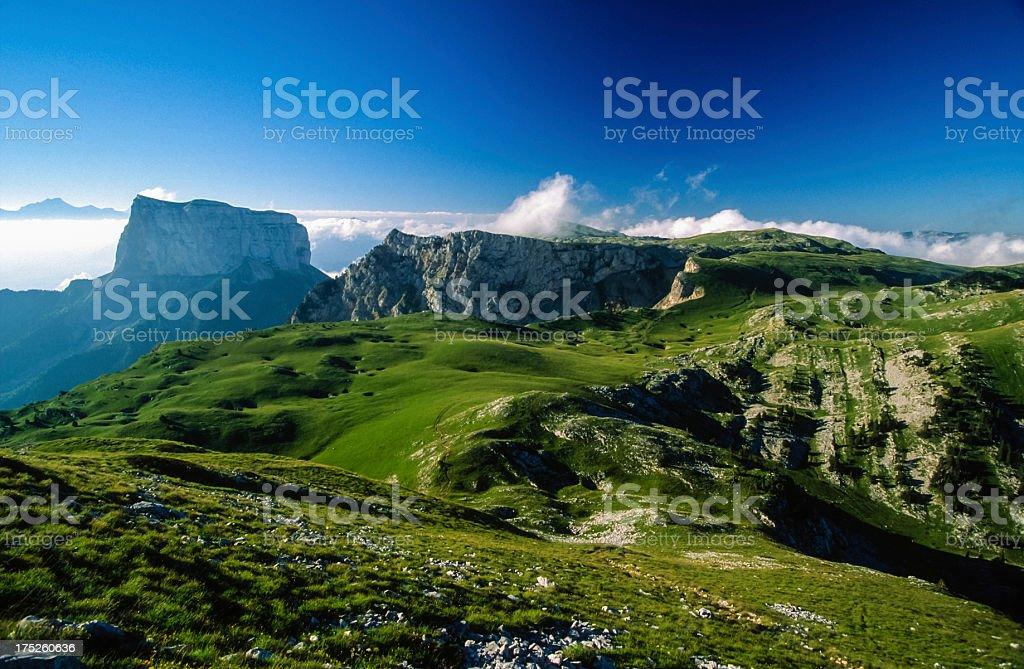 Plateau du Vercors stock photo