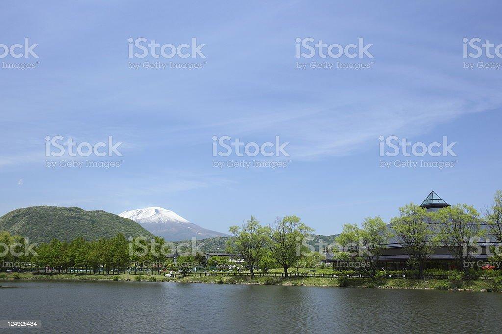 Plateau of summer stock photo