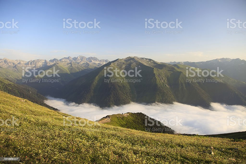 Plateau royalty-free stock photo