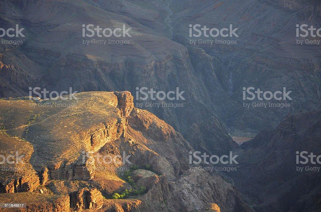 Plateau Point Grand Canyon National Park stock photo