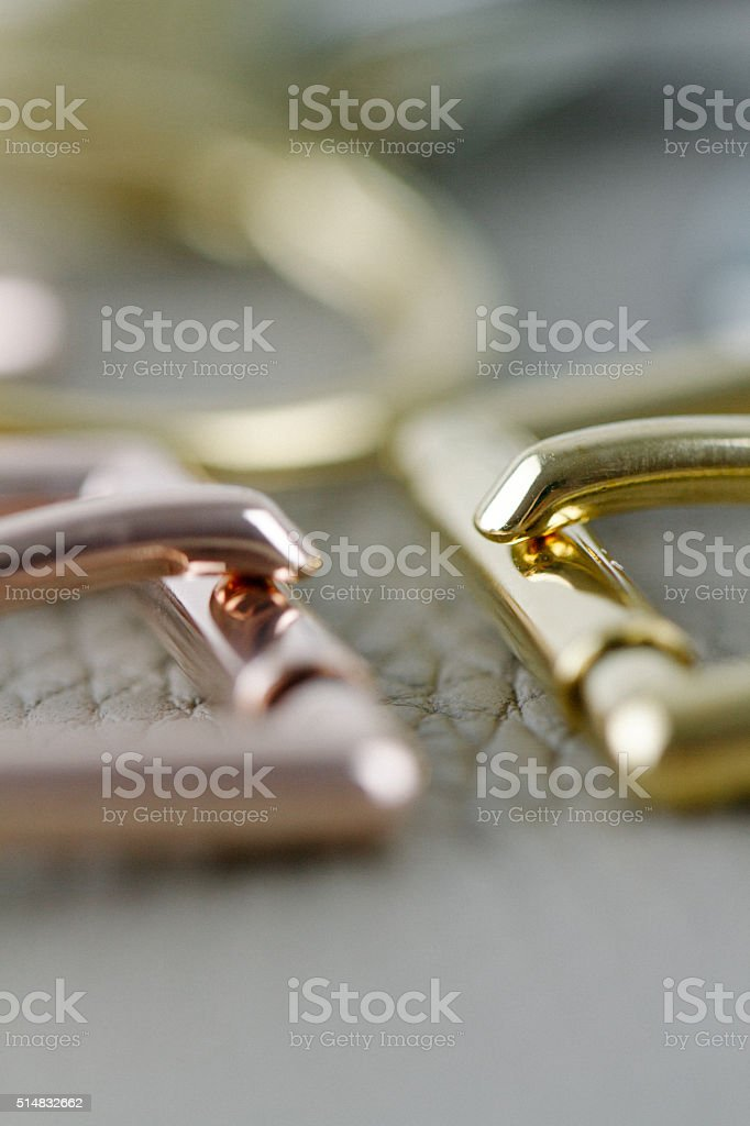 Plated metal Hardware stock photo