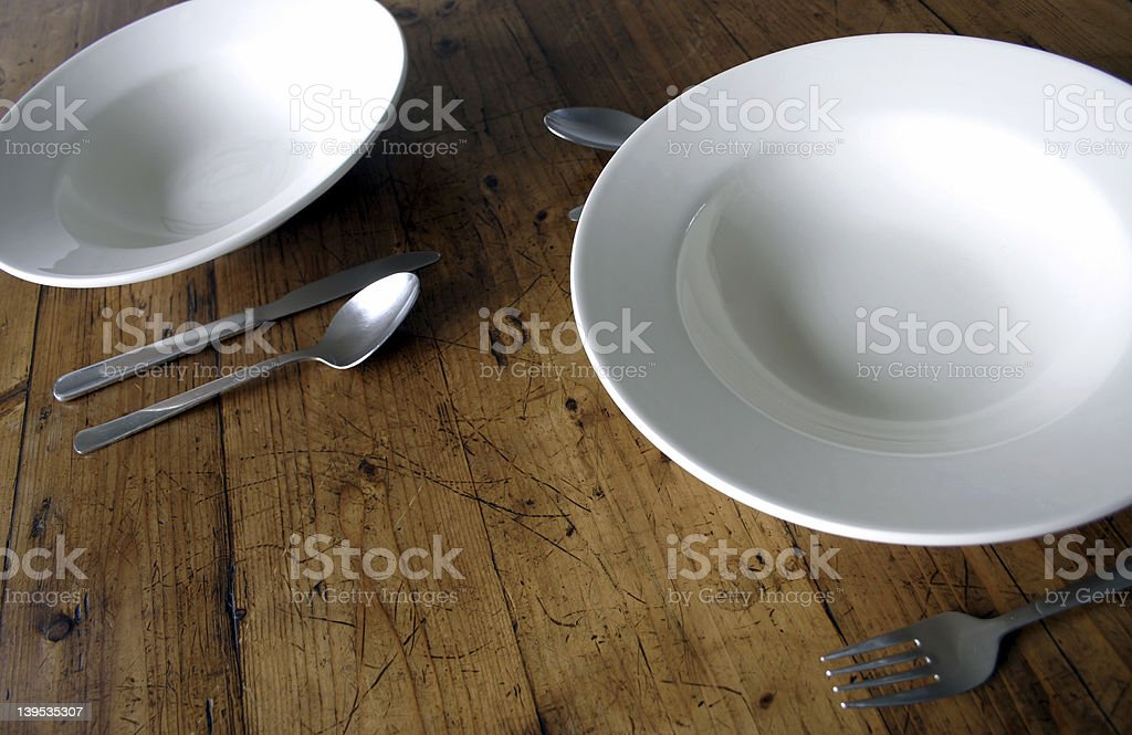plates 1 royalty-free stock photo