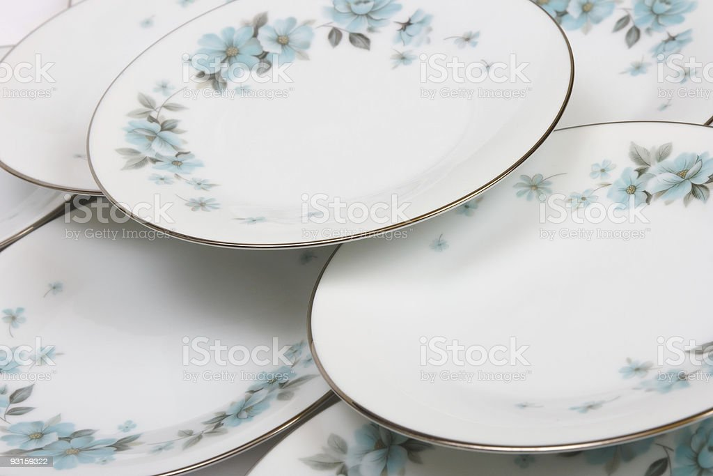 Plates background royalty-free stock photo