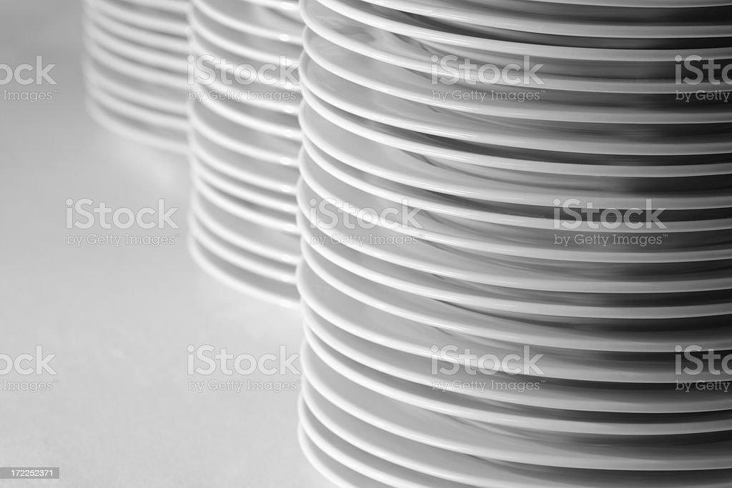 Plates royalty-free stock photo