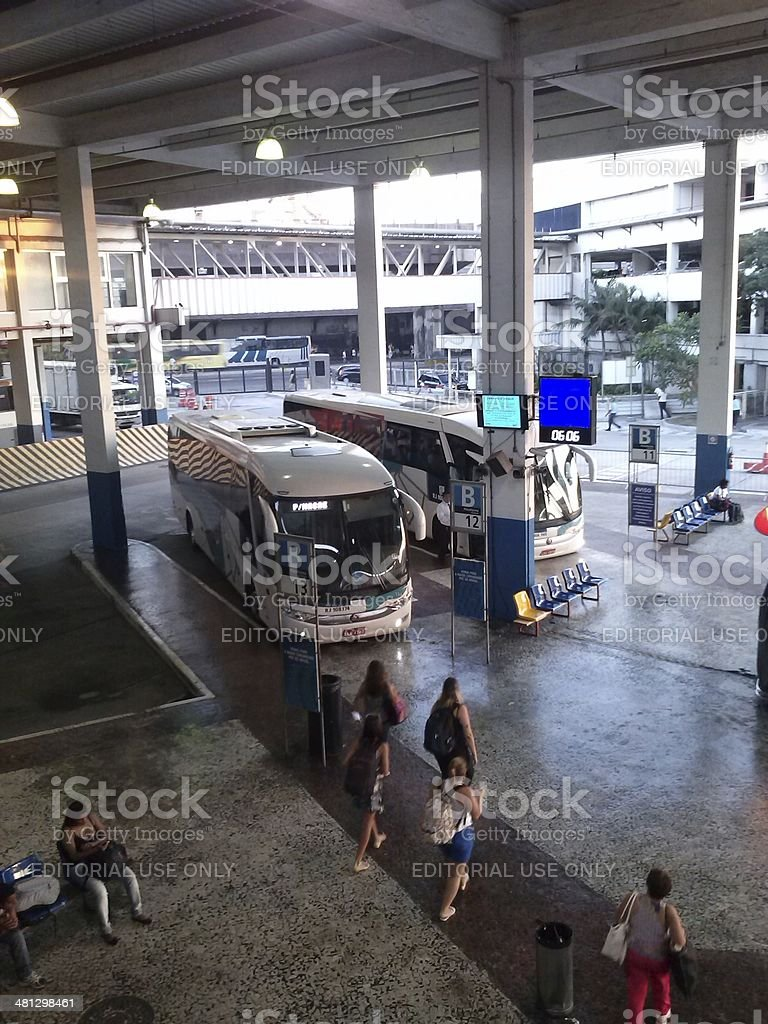 Platforms Road New River, in Rio de Janeiro stock photo