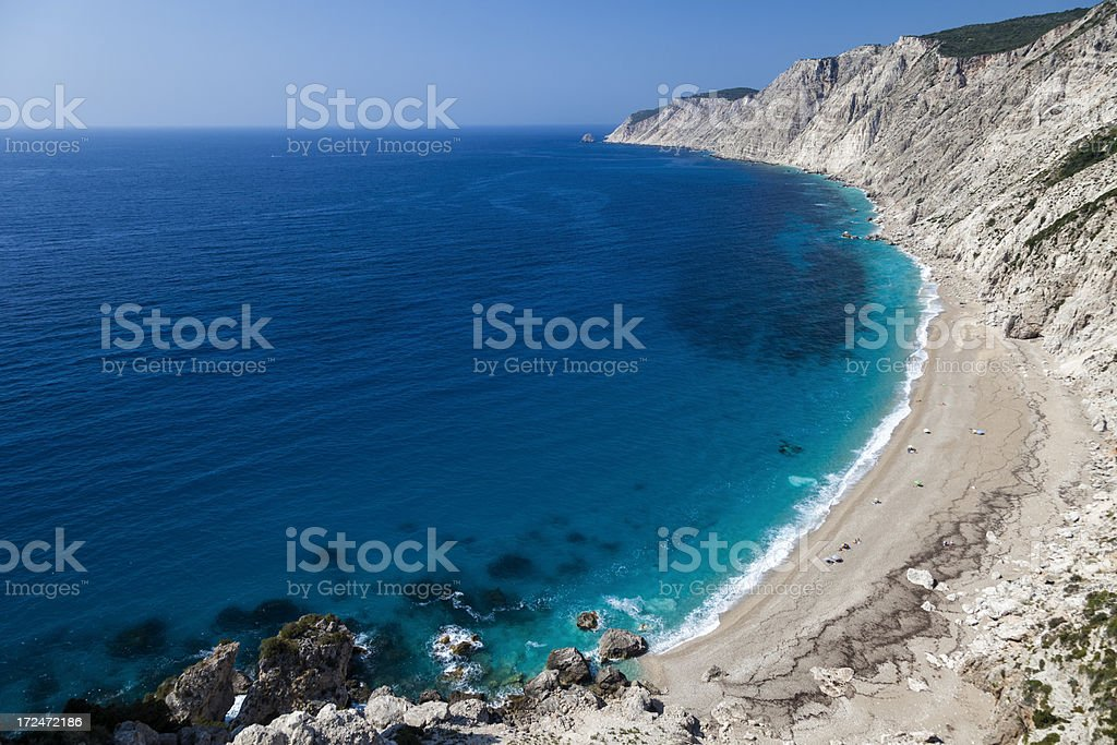 Platia Ammos beach royalty-free stock photo