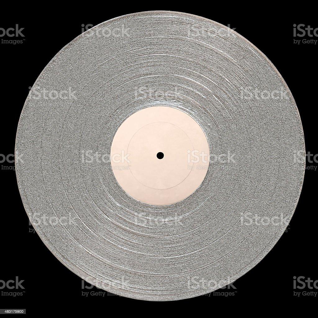 LP Platinum Album stock photo
