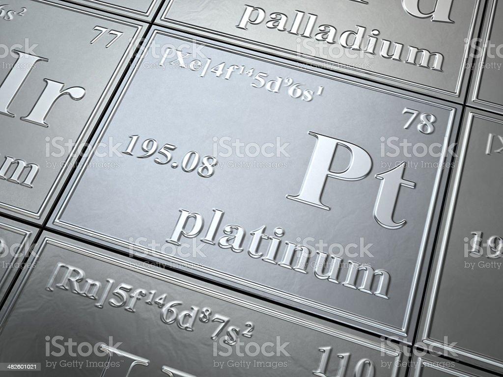 platinum stock photo