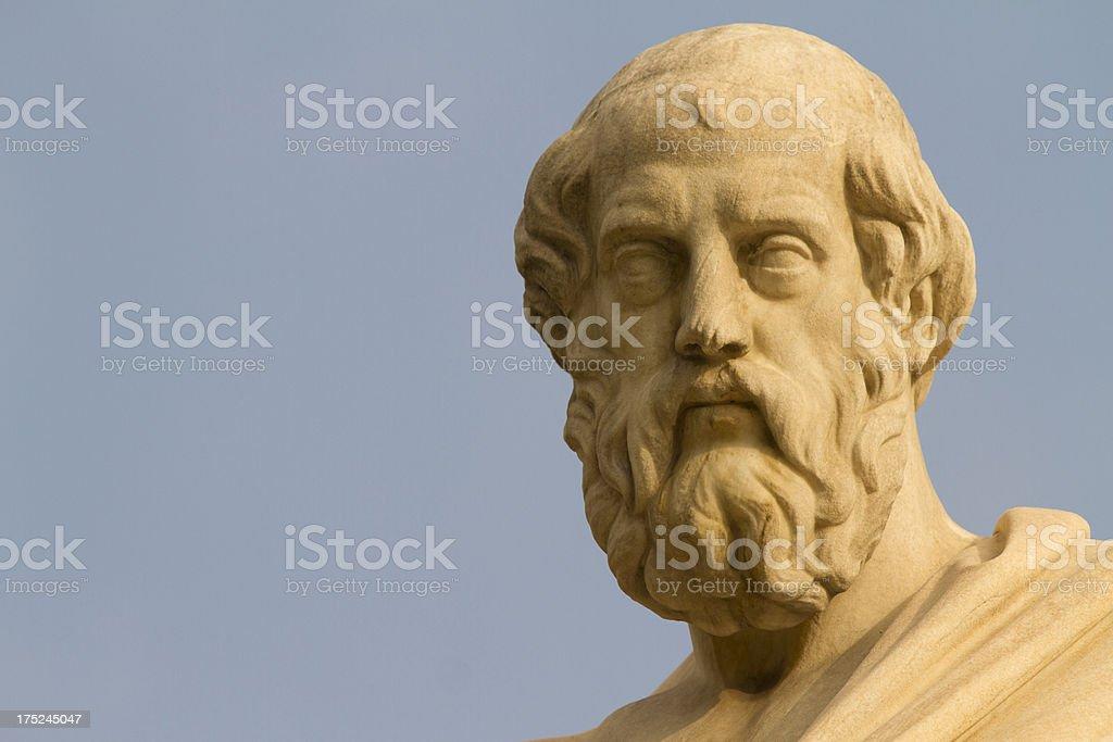 Plato, Greek Philosopher stock photo