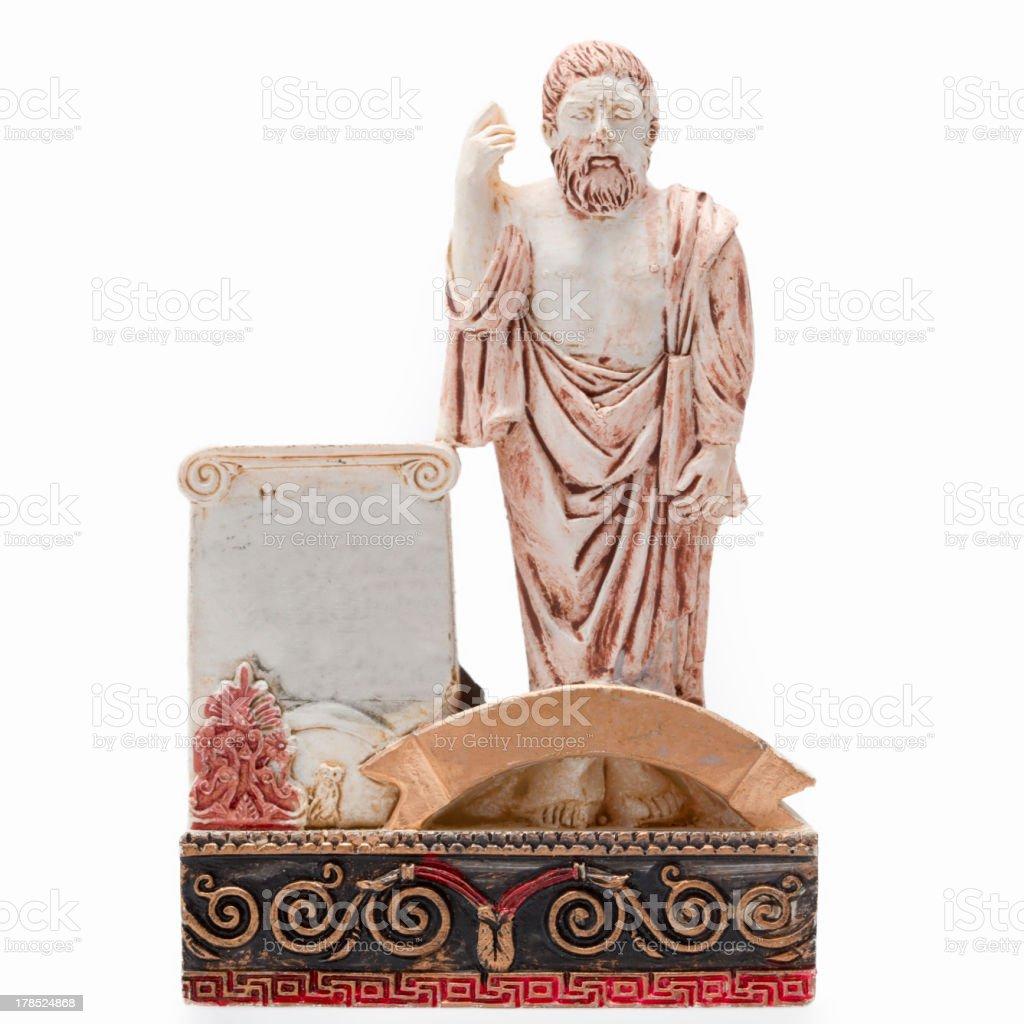 Plato - the philosopher royalty-free stock photo