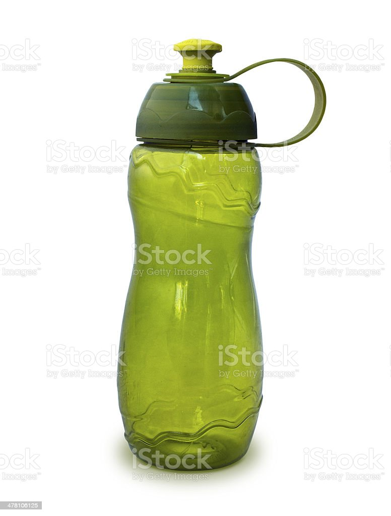 platsic water bottle stock photo