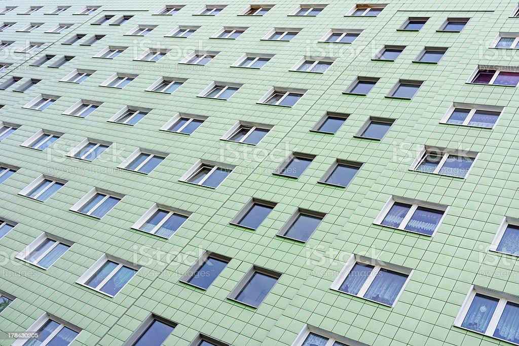 Plattenbau in Berlin royalty-free stock photo