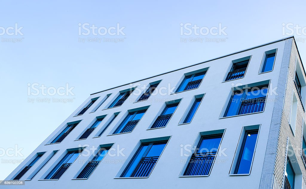plattenbau stock photo